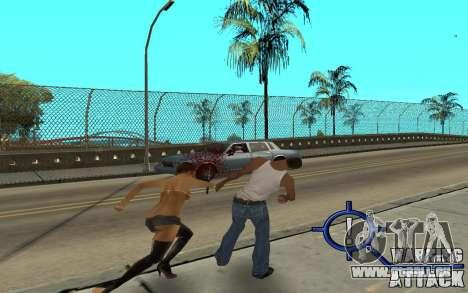 Warning Attack pour GTA San Andreas