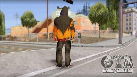 Manhunt Skin pour GTA San Andreas deuxième écran