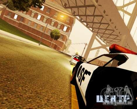Jester Police SF pour GTA San Andreas vue de droite