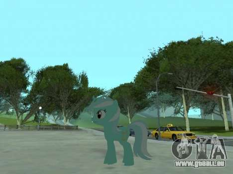Lyra pour GTA San Andreas cinquième écran