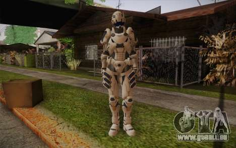 Suit from Vanquish pour GTA San Andreas