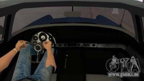 Ford Thunderbird pour GTA Vice City sur la vue arrière gauche