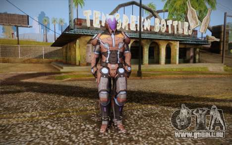 Living Laser Skin pour GTA San Andreas
