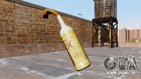 Der Molotow-cocktail-Gerste spike- für GTA 4 Sekunden Bildschirm