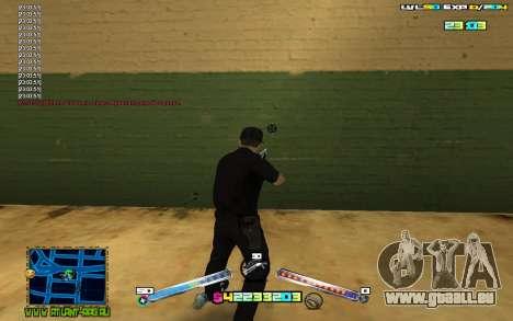C-HUD Expert pour GTA San Andreas troisième écran