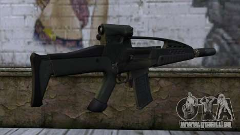 XM8 Assault Olive für GTA San Andreas zweiten Screenshot