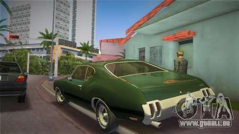 Oldsmobile 442 1970 pour une vue GTA Vice City de la gauche