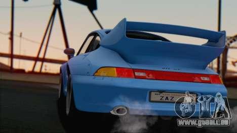 Porsche 911 GT2 (993) 1995 V1.0 SA Plate für GTA San Andreas Innen