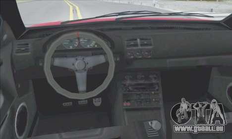 La supériorité Sentinel XS pour GTA San Andreas moteur