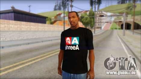 ThreeA T-Shirt für GTA San Andreas