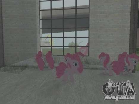 Pinkie Pie pour GTA San Andreas cinquième écran