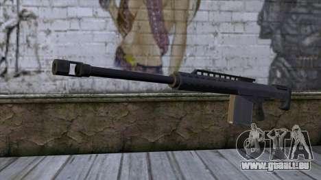 Heavy Sniper from GTA 5 pour GTA San Andreas