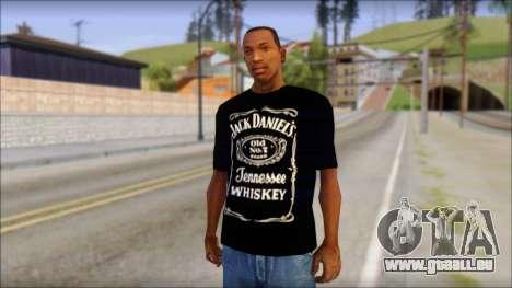 Jack Daniels T-Shirt pour GTA San Andreas