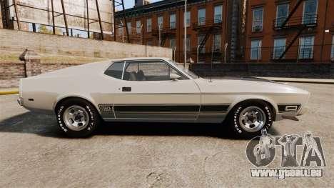 Ford Mustang Mach 1 1973 v3.0 GCUCPSpec Edit für GTA 4 linke Ansicht