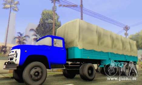 ZIL V pour GTA San Andreas sur la vue arrière gauche