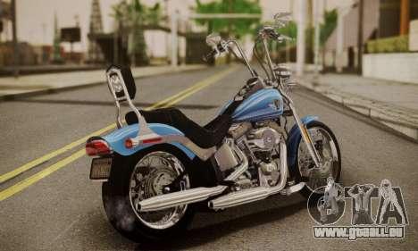 Harley-Davidson FXSTS Springer Softail für GTA San Andreas linke Ansicht