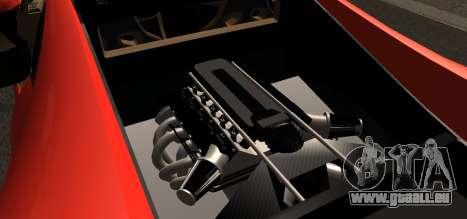 Spano Black pour GTA San Andreas vue de droite
