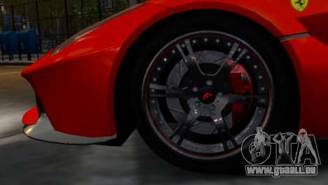 Ferrari LaFerrari WheelsandMore Edition für GTA 4 Rückansicht