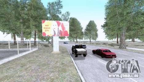Russian Map 0.5 für GTA San Andreas sechsten Screenshot