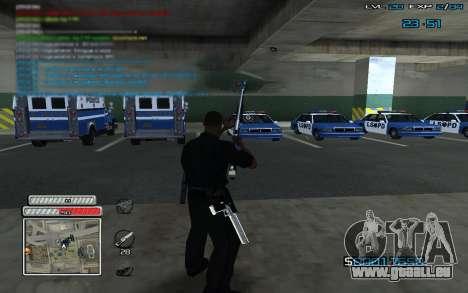 New C-HUD v.2 pour GTA San Andreas troisième écran
