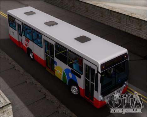 Neobus Mega IV - TCA (Araras) für GTA San Andreas obere Ansicht