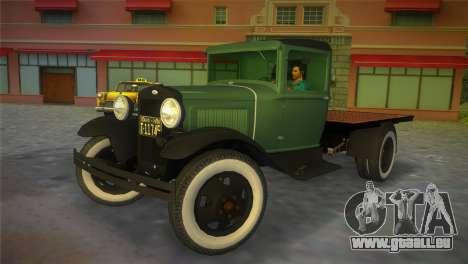 Ford Model AA 1930 für GTA Vice City