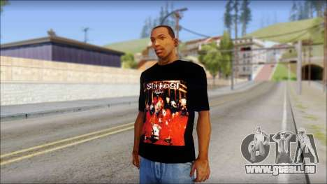 SlipKnoT T-Shirt mod für GTA San Andreas