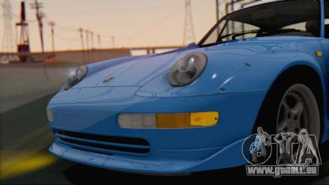 Porsche 911 GT2 (993) 1995 V1.0 SA Plate pour GTA San Andreas vue intérieure