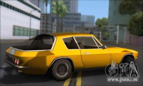 Jensen Intercepter 1971 Fast And Furious 6 pour GTA San Andreas sur la vue arrière gauche