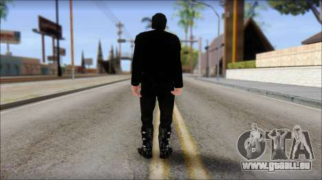Till Lindemann Skin pour GTA San Andreas deuxième écran