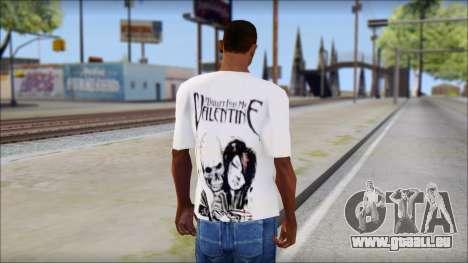 BFMV Russian Roulette T-Shirt für GTA San Andreas zweiten Screenshot