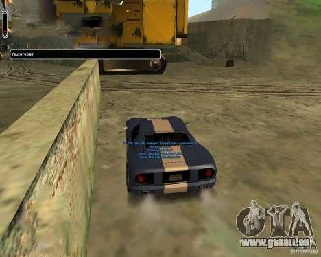 Autorepair pour GTA San Andreas troisième écran