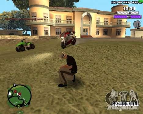 C-HUD by Weezy für GTA San Andreas dritten Screenshot