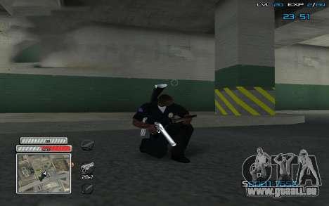 New C-HUD v.2 pour GTA San Andreas deuxième écran