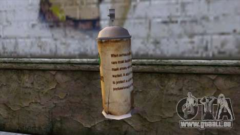 Spraycans from Bully Scholarship Edition pour GTA San Andreas