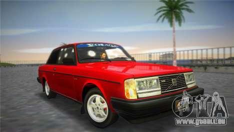 Volvo 242 Turbo Evolution pour GTA Vice City