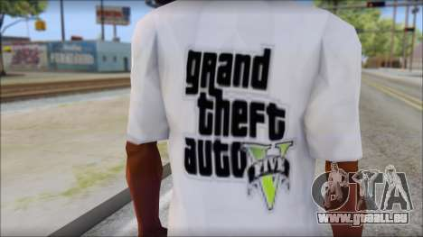 GTA 5 Fan T-Shirt für GTA San Andreas dritten Screenshot