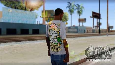 Ed Hardy T-Shirt pour GTA San Andreas deuxième écran