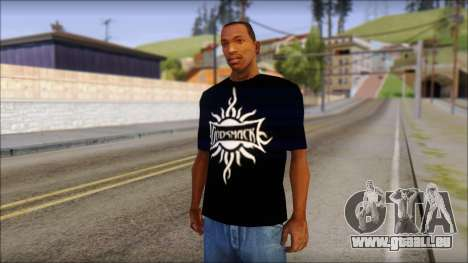 Godsmack T-Shirt für GTA San Andreas