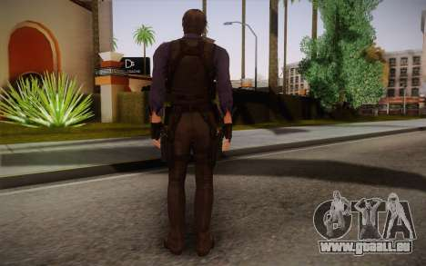 Leon Kennedy from Resident Evil 6 für GTA San Andreas zweiten Screenshot