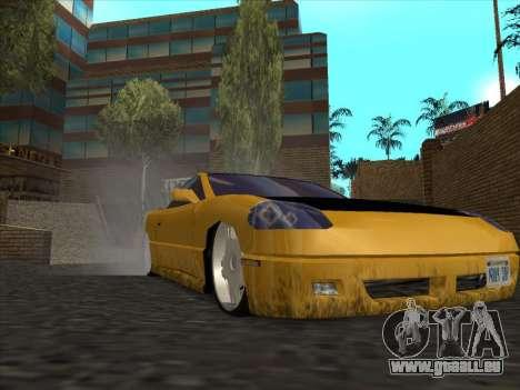 Alpha HD Cabrio pour GTA San Andreas vue arrière