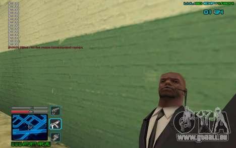 C-HUD by SampHack v.4 pour GTA San Andreas