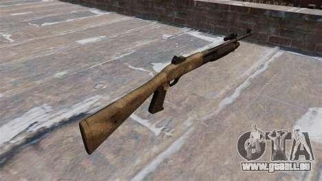 Ружье Benelli M3 Super 90 a tac au für GTA 4 Sekunden Bildschirm