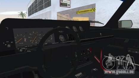 Volvo 242 Turbo Evolution pour GTA Vice City vue arrière