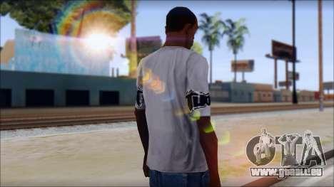 Tapout T-Shirt für GTA San Andreas zweiten Screenshot