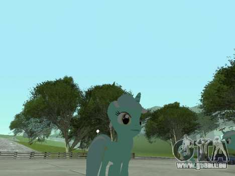 Lyra für GTA San Andreas her Screenshot