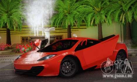 McLaren MP4-12C GAWAI v1.3 pour GTA San Andreas
