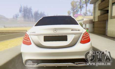 Mercedes-Benz C250 AMG pour GTA San Andreas vue de droite
