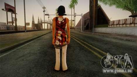 Billie from Stranglehold für GTA San Andreas zweiten Screenshot