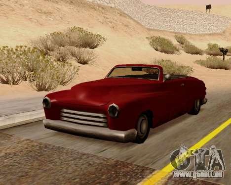 Hermes Convertible pour GTA San Andreas